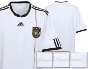 09-10 Germany Home Shirt Kids