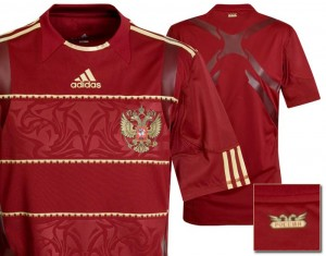 09-10 Russia Authentic Home Shirt