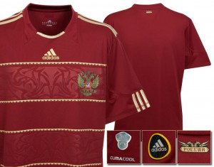 09-10 Russia Home Shirt