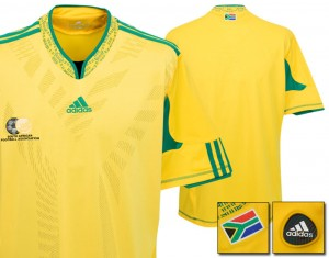 09-10 South Africa Home Shirt