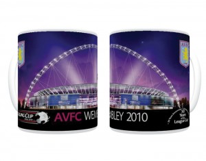2010 Carling Cup Final Aston Villa Mug
