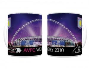 2010 Carling Cup Final Aston Villa Mug