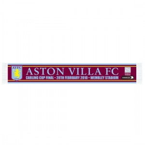 2010 Carling Cup Final Aston Villa Scarf