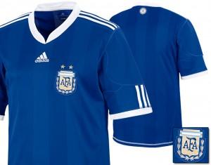 10-11 Argentina Away Shirt