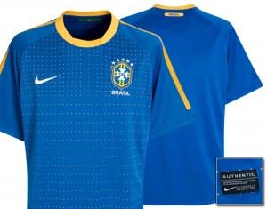 10-11 Brazil Away Shirt