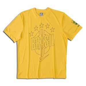 10-11 Brazil Core T-Shirt Yellow