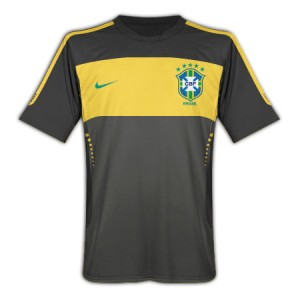 10-11 Brazil Elite Training Jersey Black