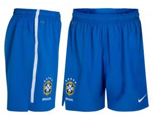 10-11 Brazil Home Shorts