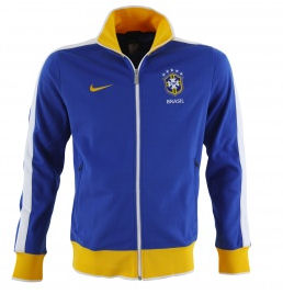 10-11 Brazil N98 Track Jacket Blue