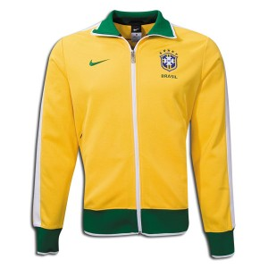 10-11 Brazil N98 Track Jacket Yellow