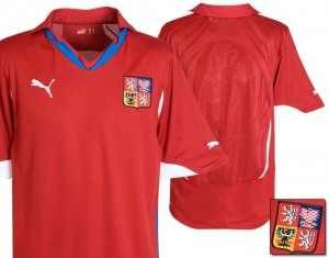 10-11 Czech Republic Home Shirt