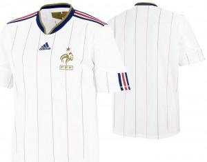 10-11 France Away Shirt