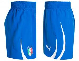10-11 Italy Home Shorts