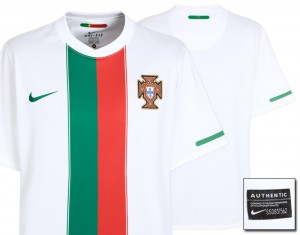 10-11 Portugal Away Shirt