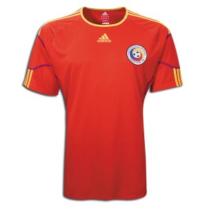 10-11 Romania Home Shirt