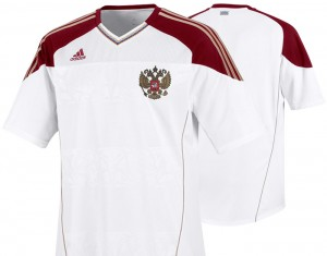 10-11 Russia Away Shirt