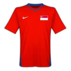 10-11 Singapore Home Shirt
