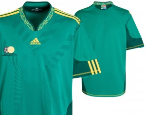 10-1 South Africa Away Shirt