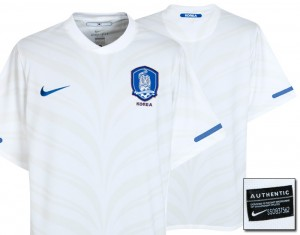10-11 South Korea Away Shirt