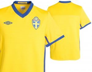 10-11 Sweden Home Shirt