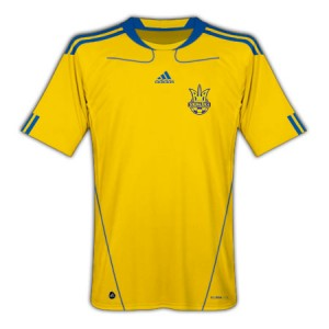 10-11 Ukraine Home Shirt