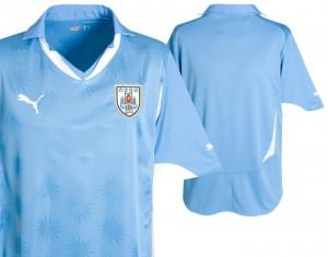 10-11 Uruguay Home Shirt