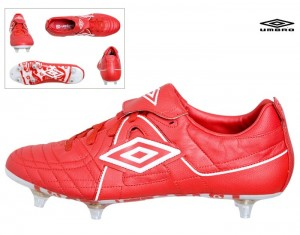 d8f11a90b55 Umbro Speciali pro England Firm Ground Football Boots (Soccer Boots) Red