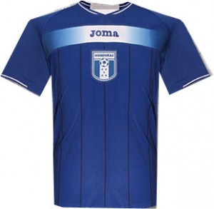 10-1 Honduras Away Shirt
