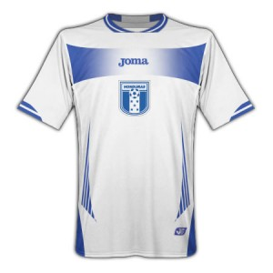 10-11 Honduras Home Shirt
