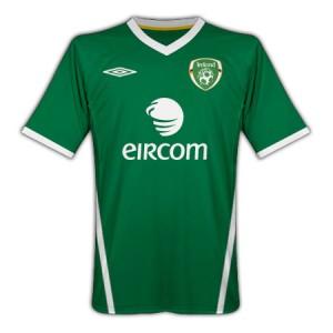 10-11 Ireland Home Shirt