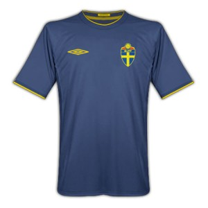 10-11 Sweden Away Shirt