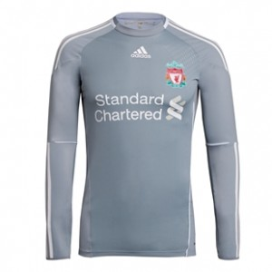 10-12 Liverpool Home Goalkeeper Shirt Kids