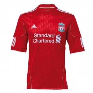 10-12 Liverpool Home Shirt