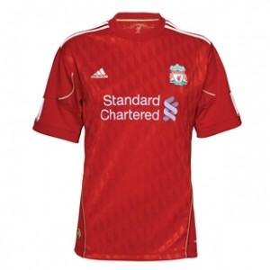 10-12 Liverpool Home Shirt Women