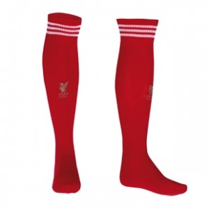 10-12 Liverpool Home Socks