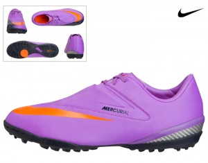 Nike Mercurial Glide Astro Turf Football Boots Kids