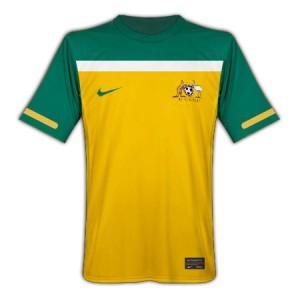 10-11 Australia Home Shirt