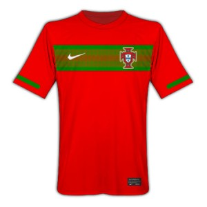10-11 Portugal Home Shirt