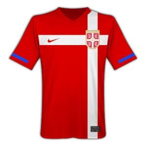 10-11 Serbia Home Shirt