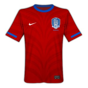 10-11 South Korea Home Shirt