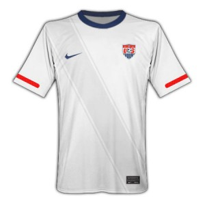 10-11 USA Home Shirt