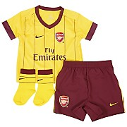 10-11 Arsenal Away Kit Infants