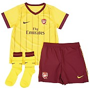 10-11 Arsenal Away Kit Little Kids