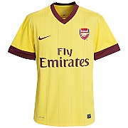 10-11 Arsenal Away Shirt Kids