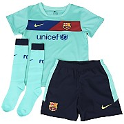 10-11 Barcelona Away Kit Little Kids