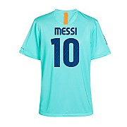 10-11 Barcelona Away Shirt Messi 10