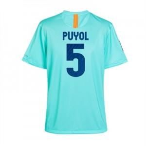 10-11 Barcelona Away Shirt Puyol 5