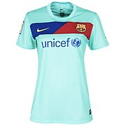 10-11 Barcelona Away Shirt Women