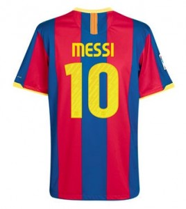 10-11 Barcelona Home Shirt Messi 10
