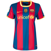 10-11 Barcelona home Shirt Women